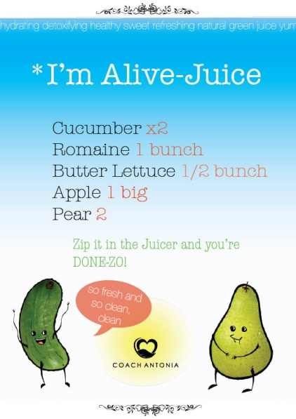 im alive juice