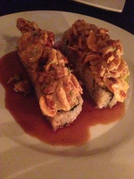 Cornflake crunchy sushi